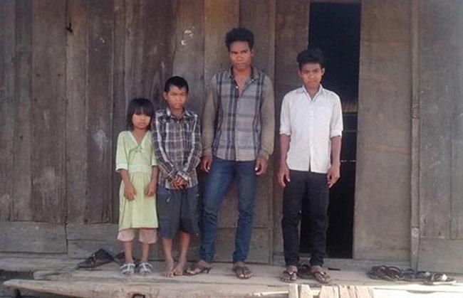 Chàng trai trẻ Y Pháo Byă cần một căn nhà nhân ái