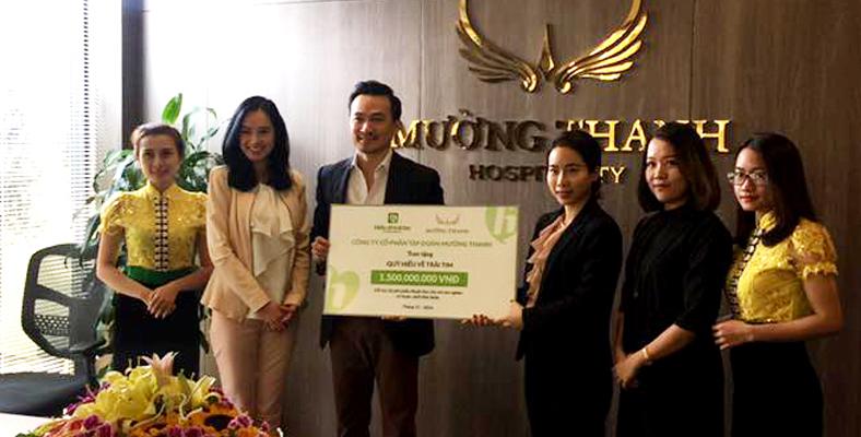 Tập đoàn Mường Thanh trao tặng 1,5 tỷ đồng